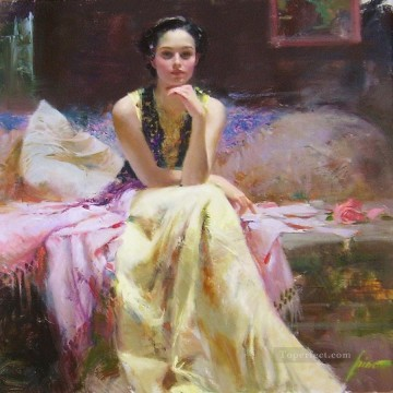 Pino Daeni 17 Oil Paintings